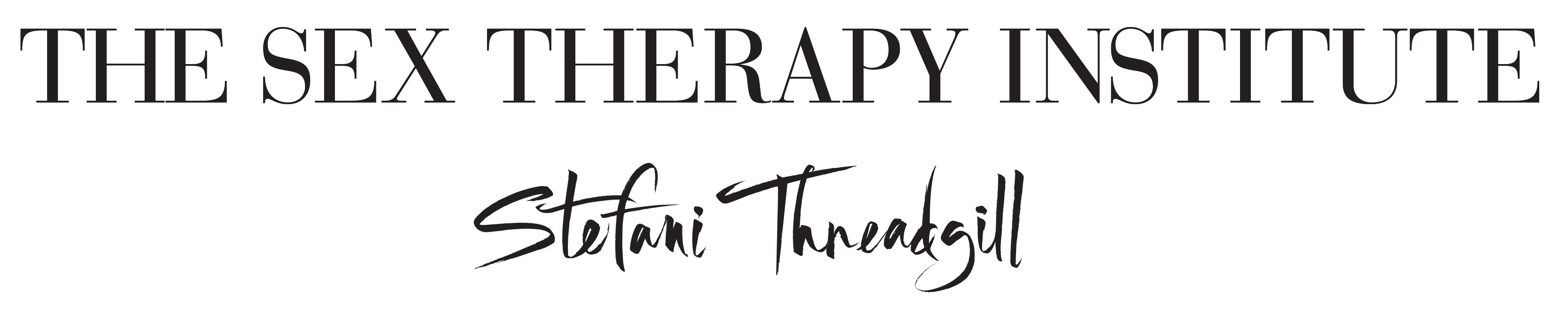Stefani Threadgill: The Sex Therapy Institute